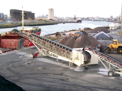 港口裝船機