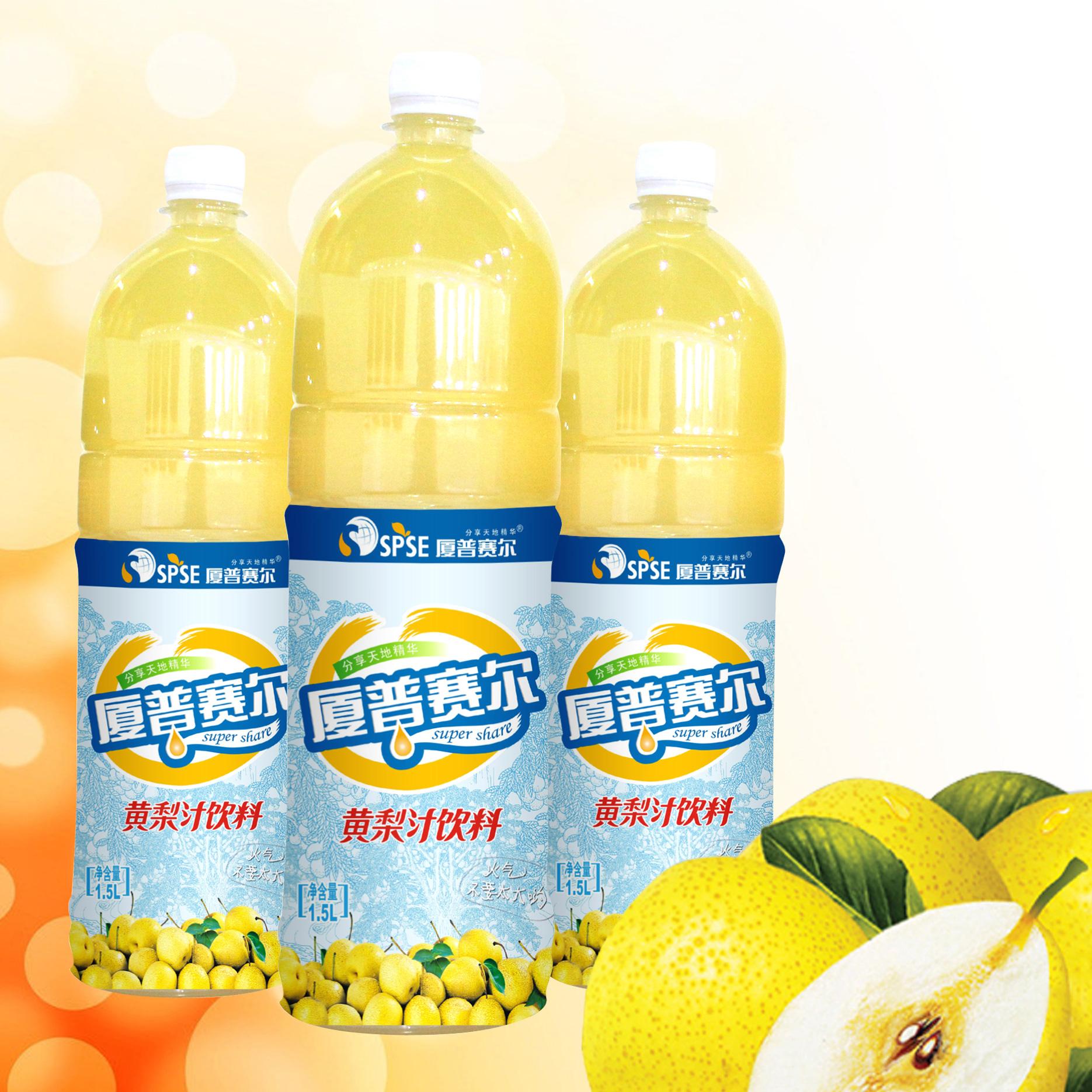 1.5L黃梨汁飲料