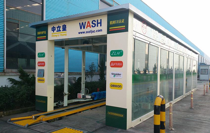 7+2刷小車隧道式洗車機