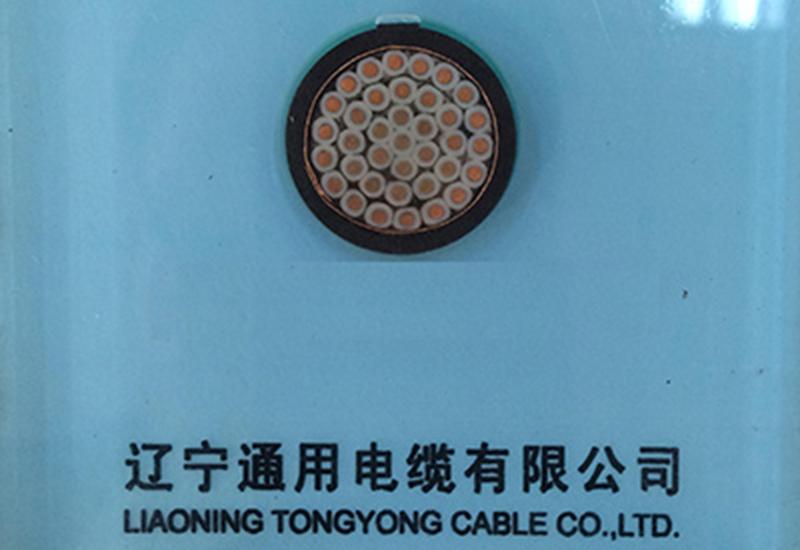 聚氯乙烯绝缘和护套控制电缆