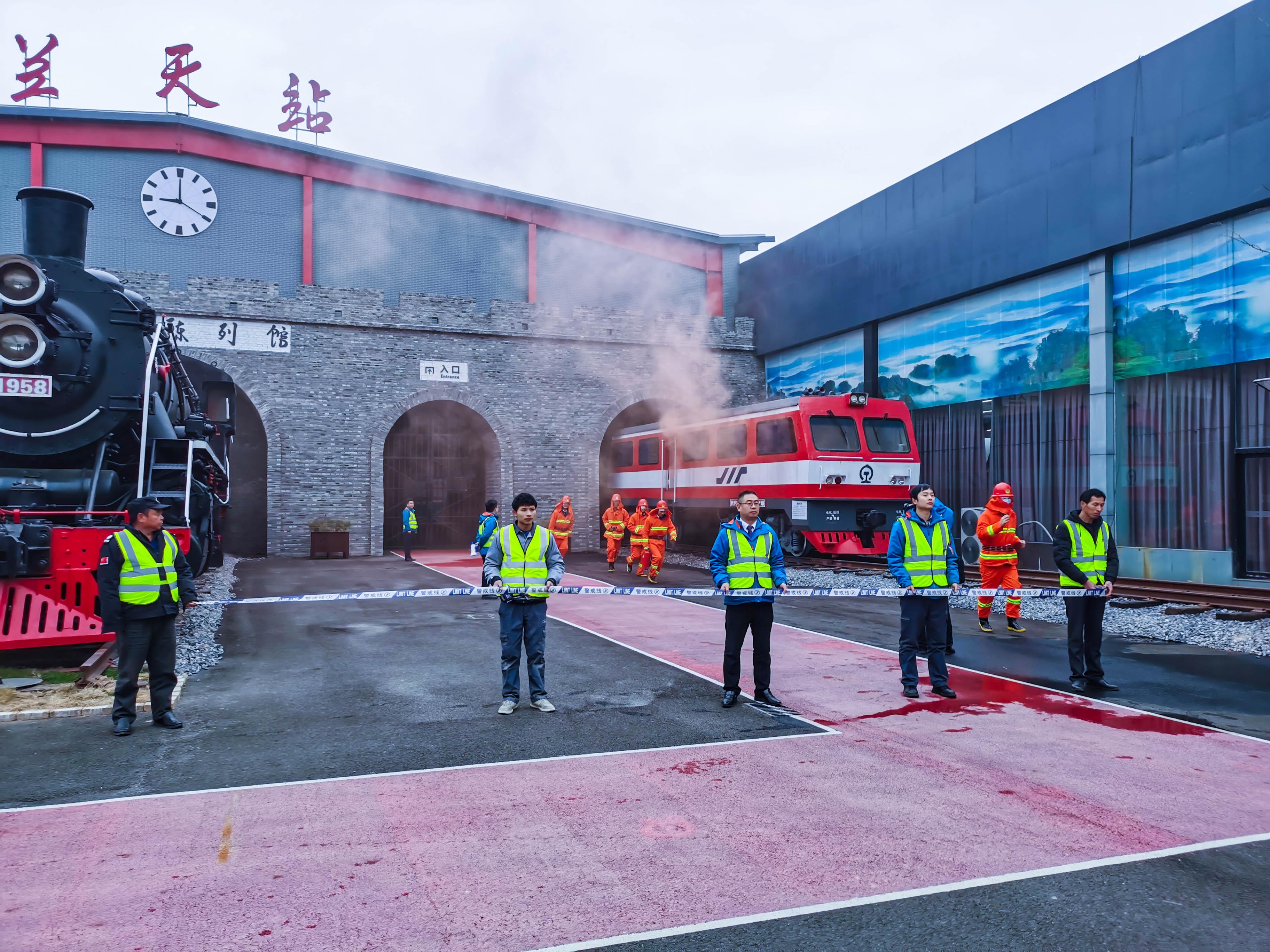 珍爱生命,防患于未然——兰天集团党支部组织全体员工开展消防培训及疏散演练