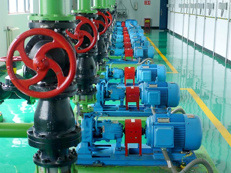 上海奉賢水廠泵房設備