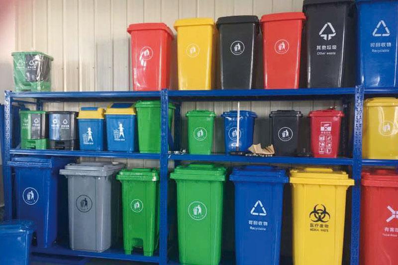 TC-LT系列塑料垃圾桶垃