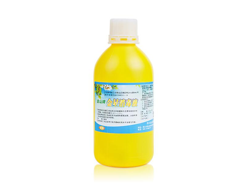 金星消毒液500ml