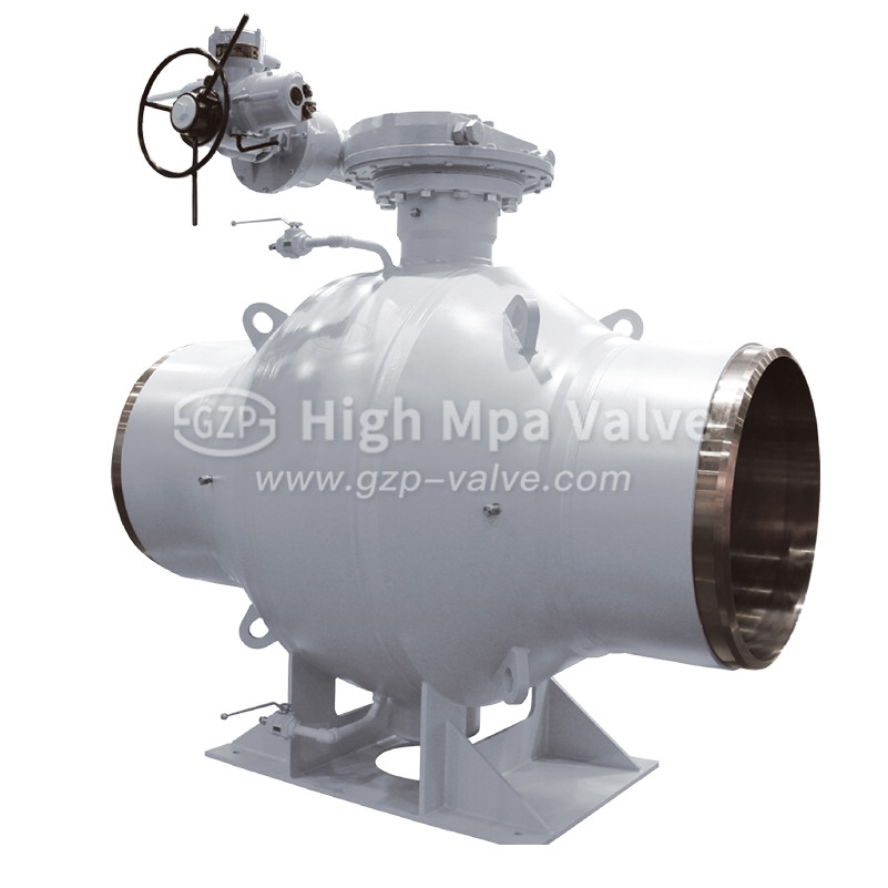 Stainless Steel Fully Weld Ball Valve