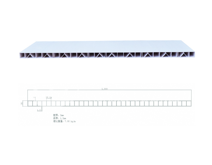 PVC滑簾板
