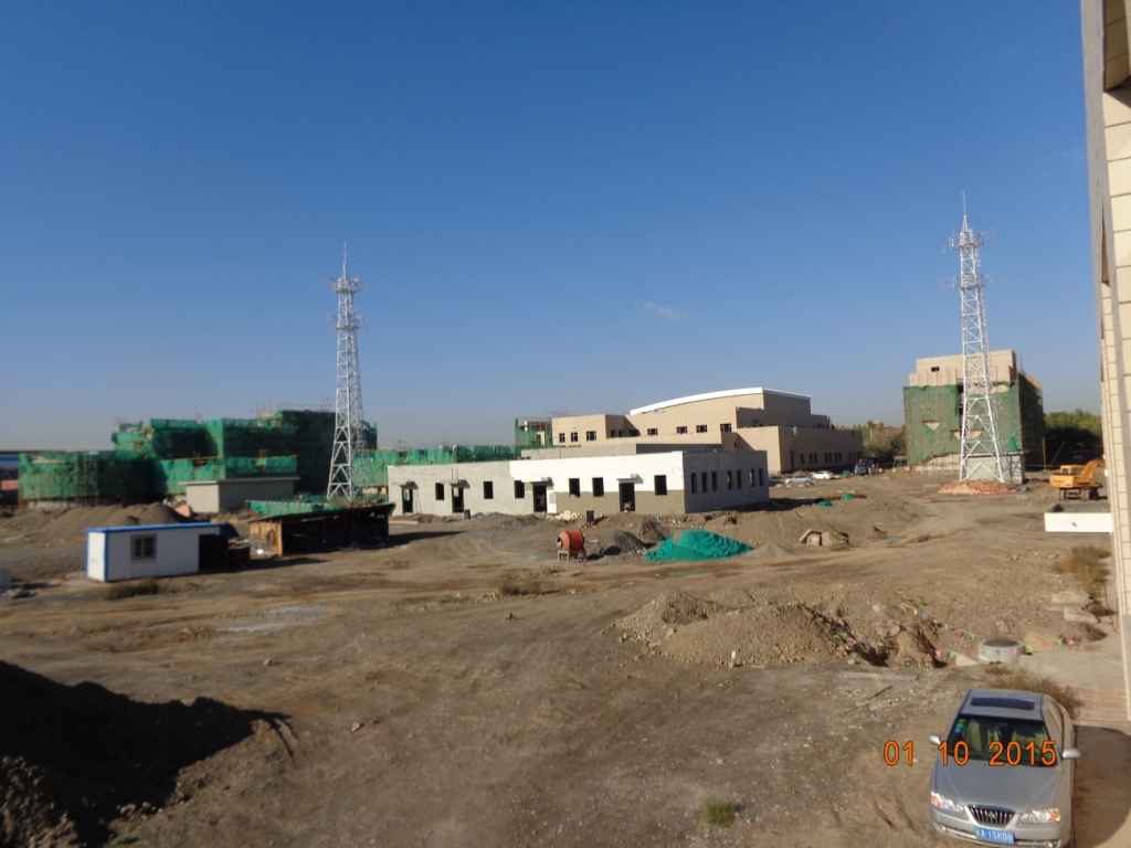 Urumqi regional control center project process installation project