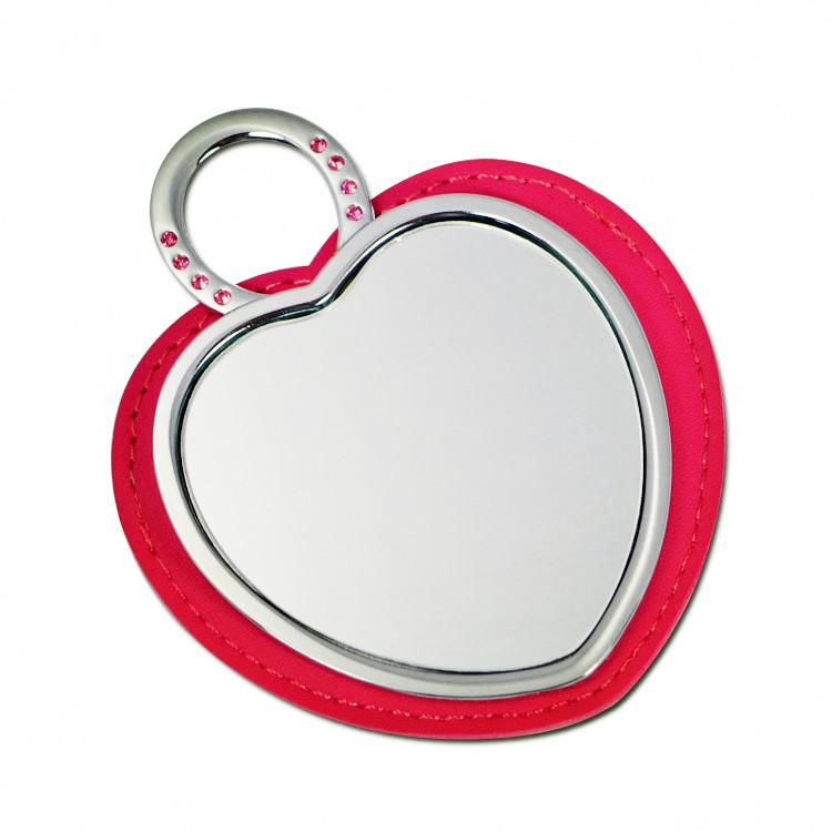 心形化妆镜