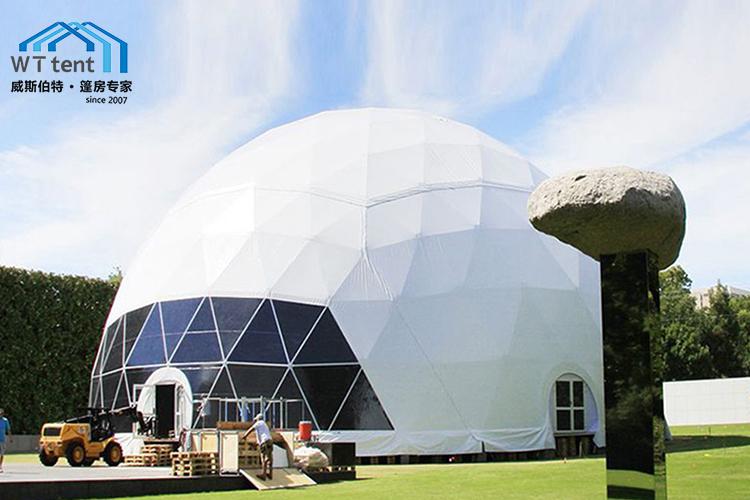 苏州威斯伯特篷房大型半透明球型篷房帐篷定制帐篷厂家