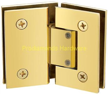 GLASS TO GLASS ADJUSTABLE HINGES
