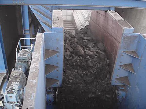 霍林河露天煤業輸煤系統破碎站刮板機3