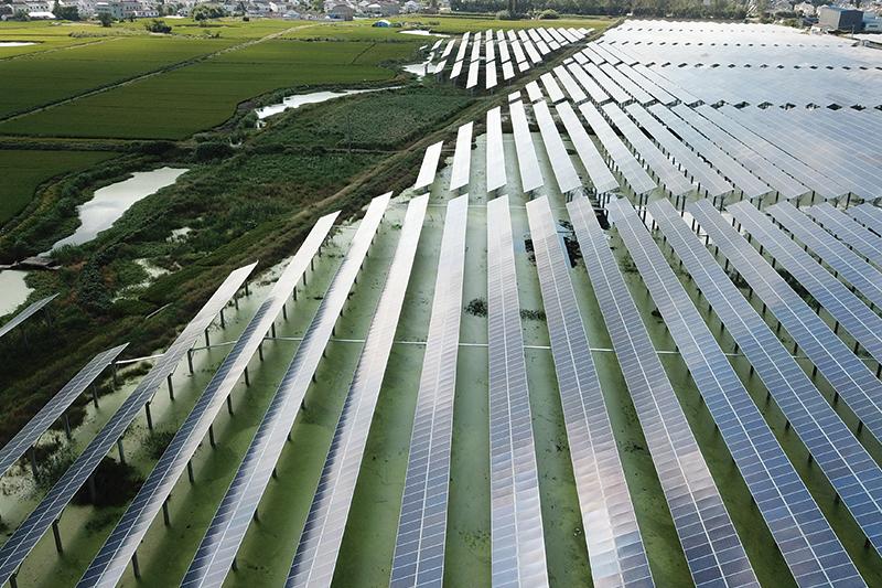 鎮江煜陽新能源有限公司光伏電站地基與基礎
