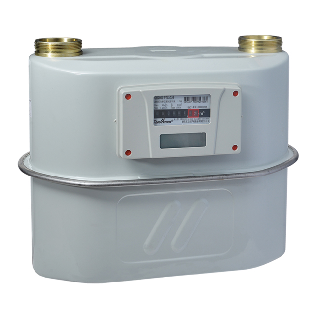Temperature and pressure correction diaphragm gas meter for Industrial and commercial