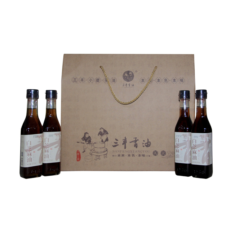 Sanfeng sesame oil sauce gift package