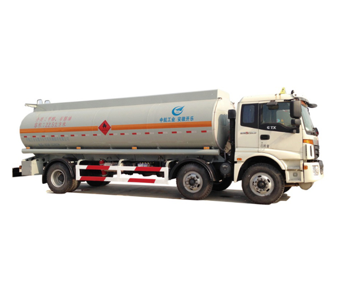 Liquid tanker semi-trailer