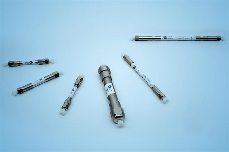 離子交換、疏水分析柱