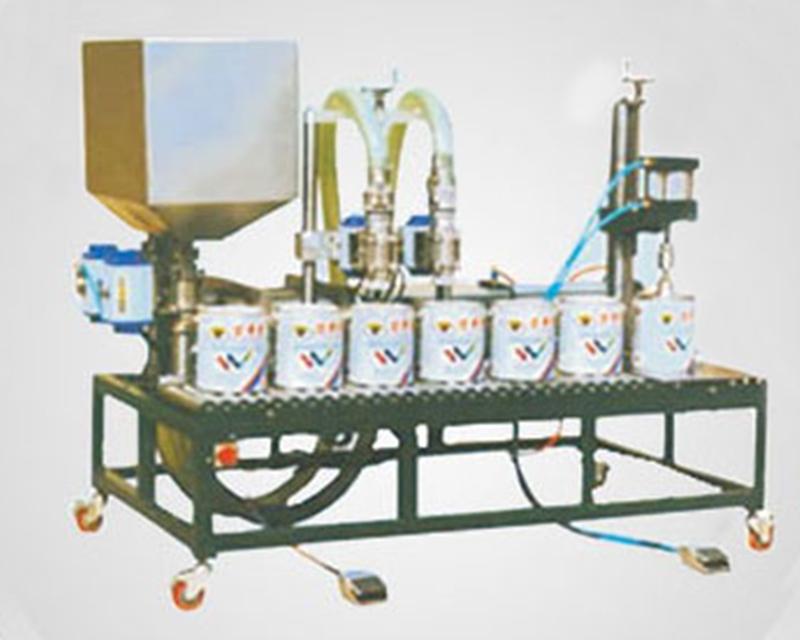 GWJ系列活塞式半自動液體灌裝機