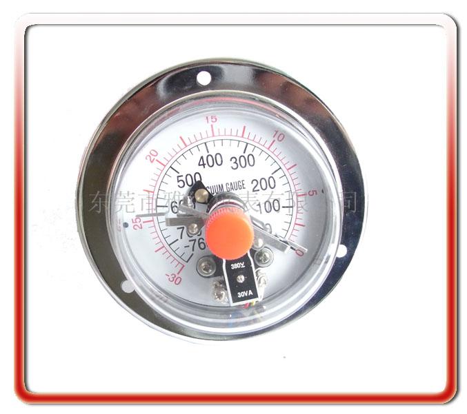 100MM耐震真空電接點壓力表