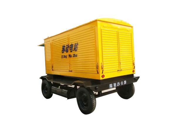 移动防雨式柴油发电机组