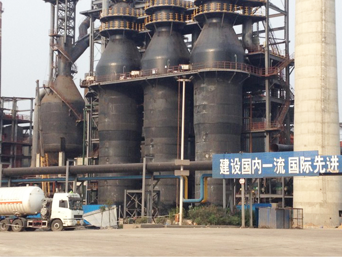Angang Wuyuan 1080m3 blast furnace hot air furnace EP project