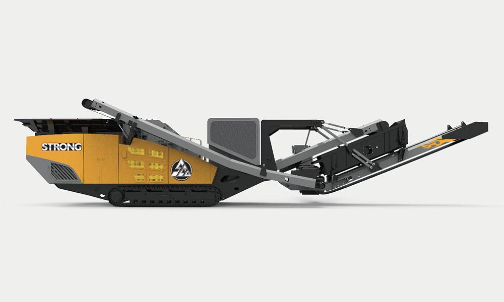履帶反擊式破碎設備 SCGF260