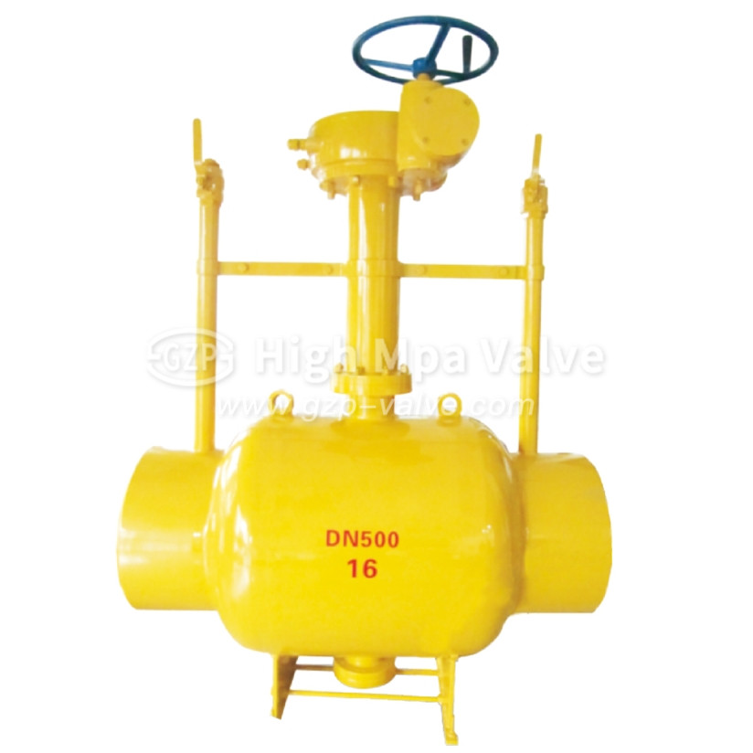 Discharging Type Fully Welded Ball Valve