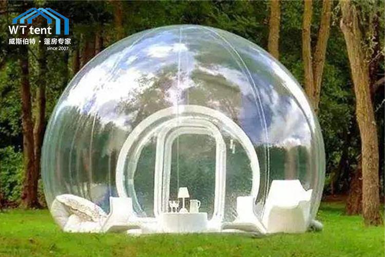 苏州威斯伯特小型透明球形篷房帐篷厂家定制帐篷酒店帐篷