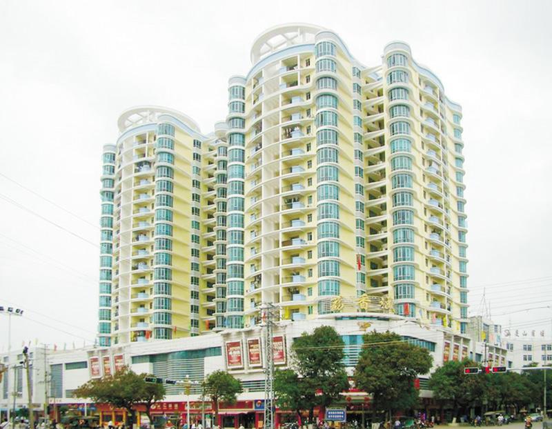 靈山荔香城工程被評為2008年廣西優質工程