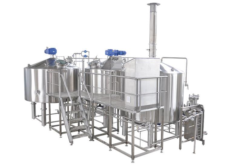 20BBL 三器糖化系統