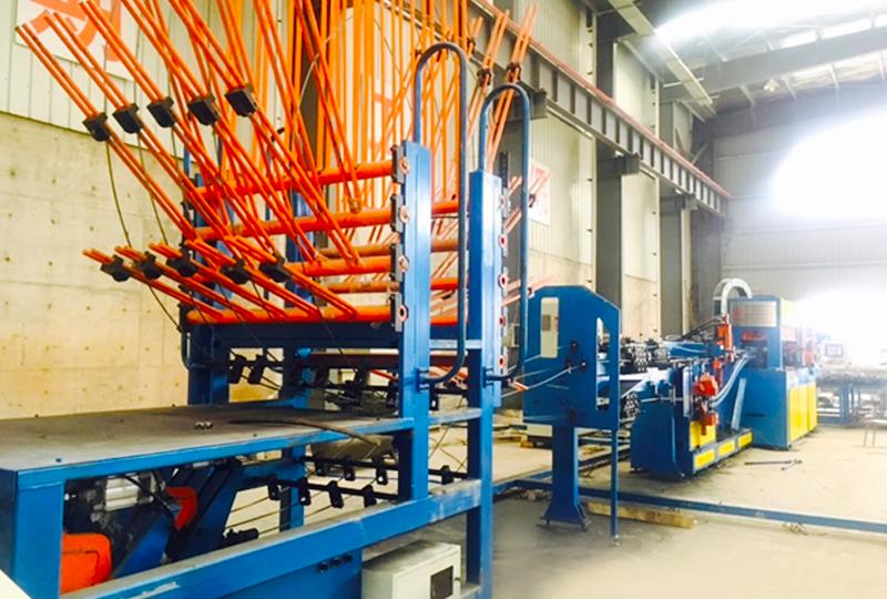 桁架焊接生產線