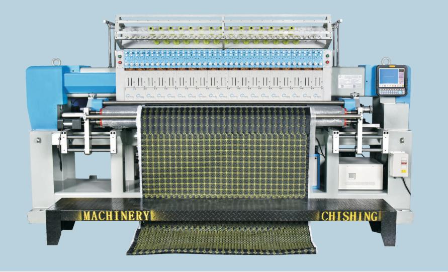 CSHX 高速小型電腦絎繡一體機