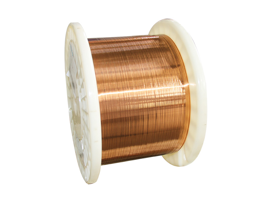 Enamelled  copper  flat  Wire