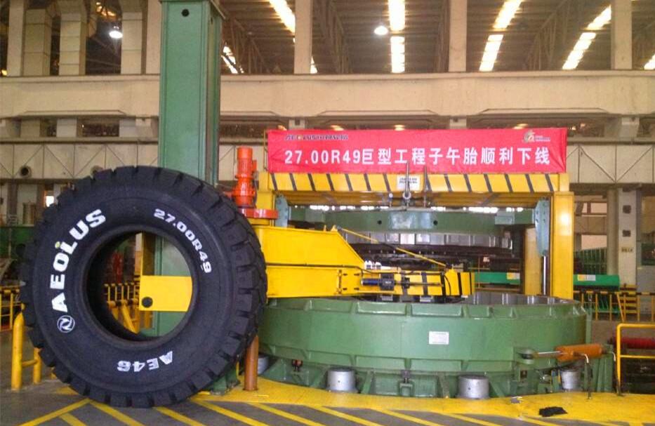 巨型全鋼輪胎液壓定型硫化機 (3)