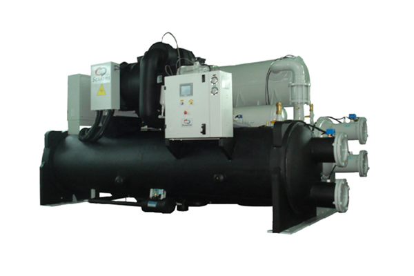 SCREW TYPE GROUND SOURCE HEAT PUMP UNIT (MEDIUM AND HIGH TEMPERATURE TYPE)