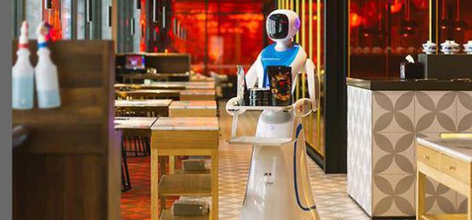 頻登外媒頭條丨Amy送餐機器人的走紅是意外還是必然?