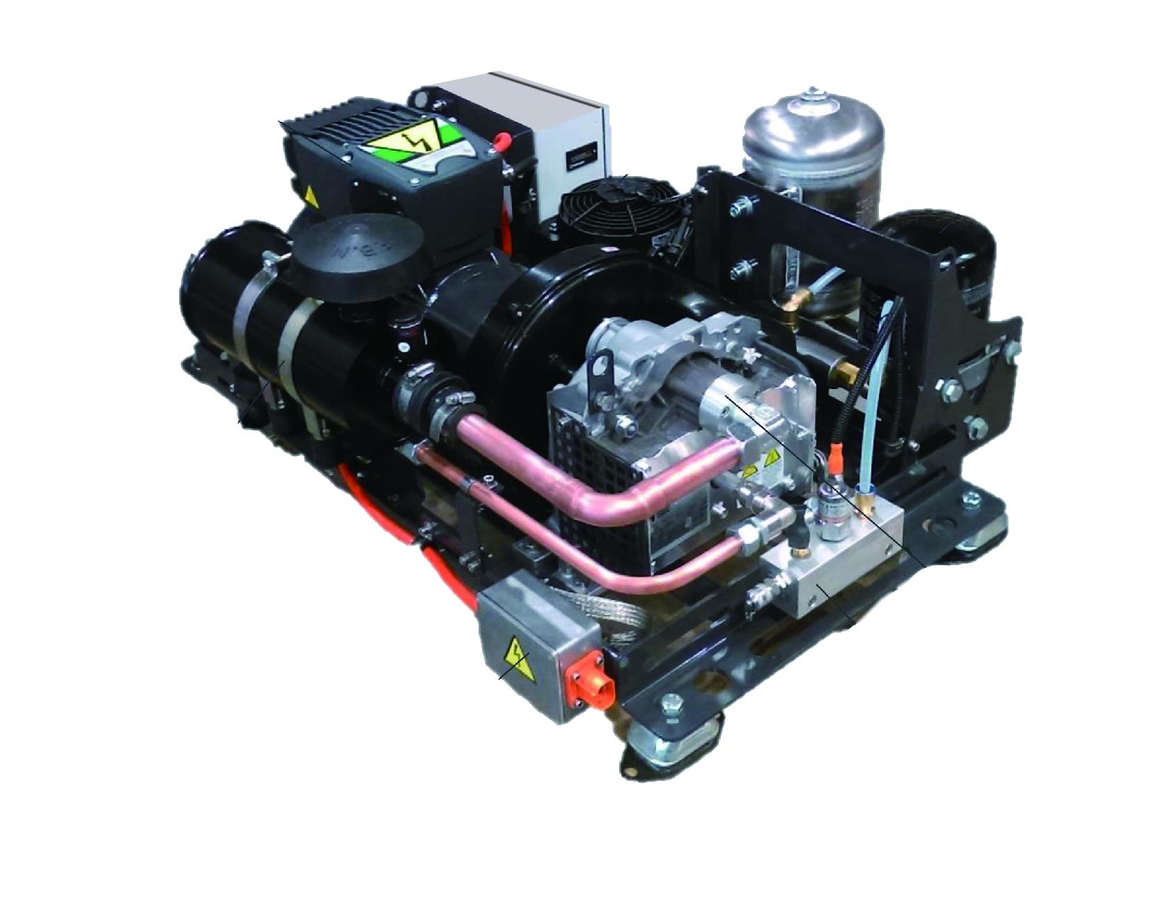 新能源車用壓縮機系統