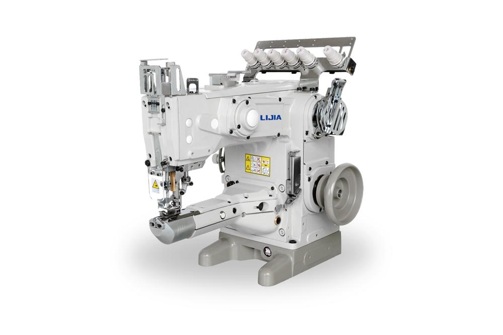 L6500 高速竖筒式绷缝机系列
