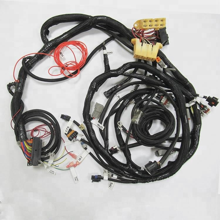 Car engine wiring harness custom for Automobile Application wire harness e car snowmobile cable scooter wiring assembly