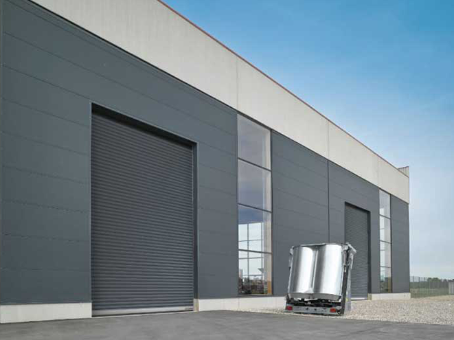According to the requirements of the site, the industrial lift door can be opened as follows