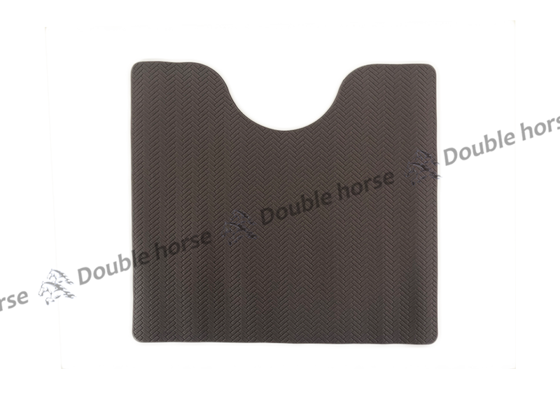 PVC素色壓紋馬桶墊