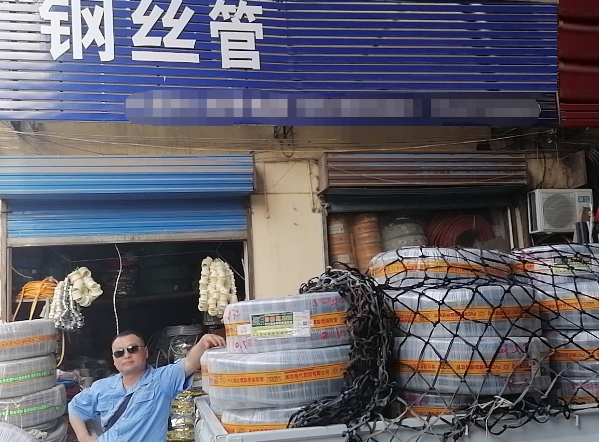 PVC钢丝管市场供应