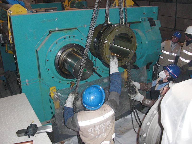 米其林沈陽輪胎有限公司生產線安裝