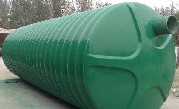 新型材料环保型整体式玻璃钢化粪池
