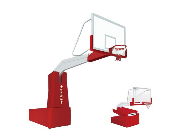 电动液压篮球框