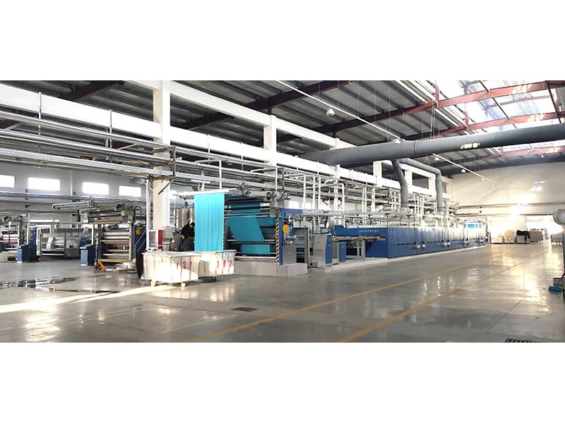 河南新野紡織股份有限公司染整車間鋼結構廠房