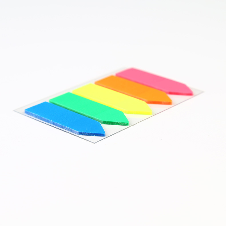 school&office supply custom neon color arrow sticky note