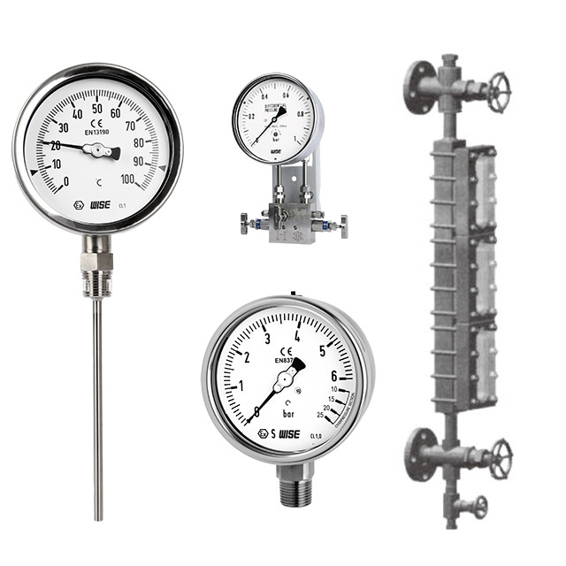 WISE-PRESSURE GAUGE&TEMPERATURE GAUGE
