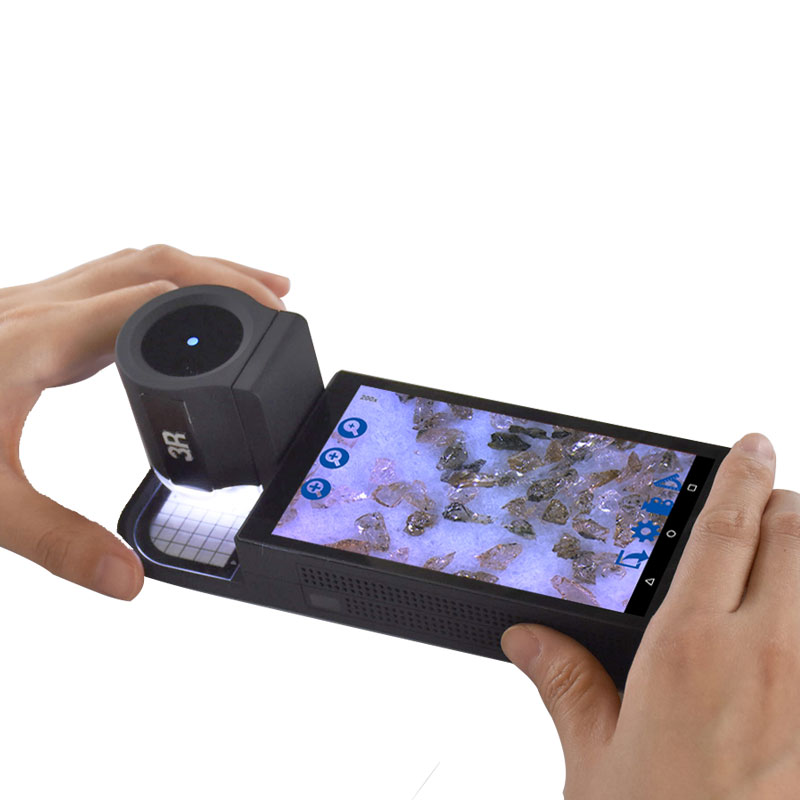 便攜式視頻顯微鏡3R-MSA600工業檢測