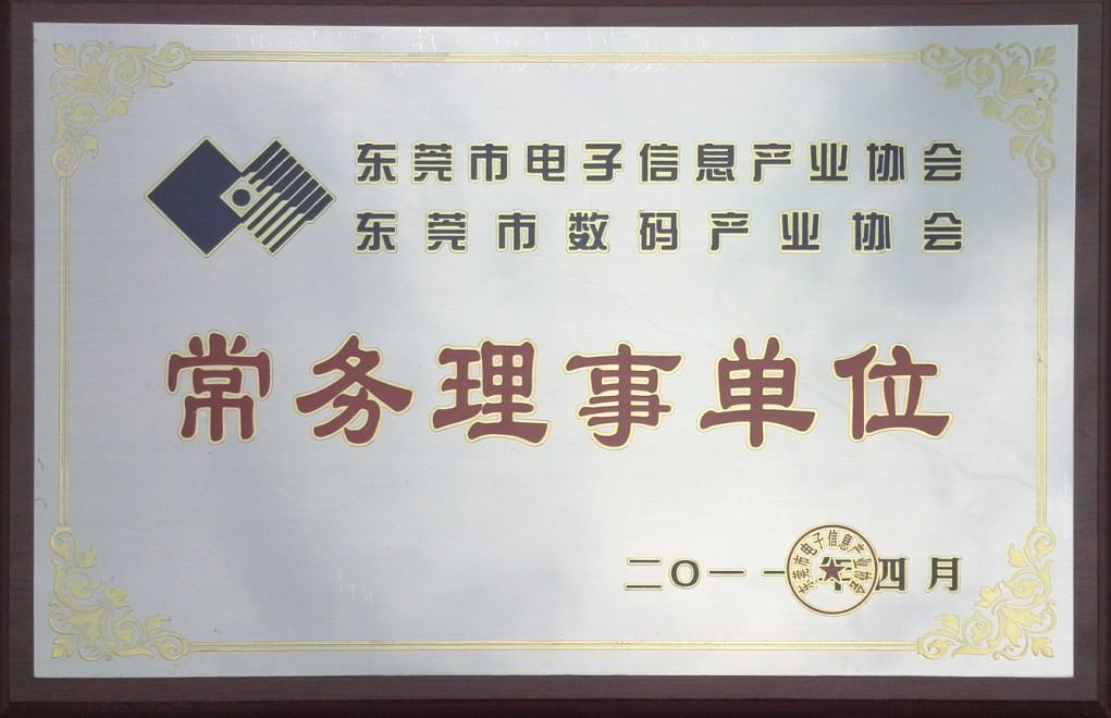 電子信息常務理事單位