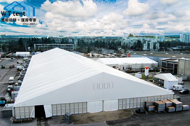 威斯伯特L40铝合金大型仓储篷房PVC户外工业帐篷
